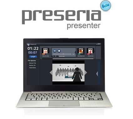 Preseria Presenter: Seamless presentations made easy #edtech20 #elearning | startup in Semantic Web , Social Media , Web 2.0 , Elearning | Scoop.it