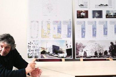 Campus de Bordeaux : du béton blanc pour les locaux de la médecine préventive | Rudy Ricciotti | Scoop.it