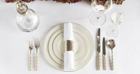 How To Set A Dining Table, LuxDeco Magazine, Luxury Interior Design Inspiration, Ideas & Trends | Decor Trends | Scoop.it