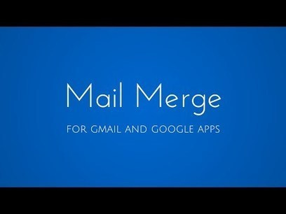 How to Send Personalized Emails with Mail Merge in Gmail | Entrepreneur Productivity Toolkit | Scoop.it