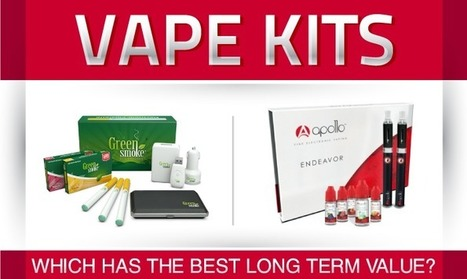 Vape Kits   Finding The Best E-Cigarette Value   The ECCR Blog   Scoop.it