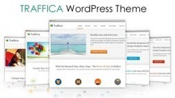 Traffica WordPress Theme from InkThemes | Free & Premium WordPress Themes | Scoop.it