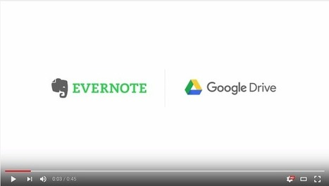 New- Evernote Is Now Integrated with Google Drive ~ Educational Technology and Mobile Learning | Edtech PK-12 | Scoop.it