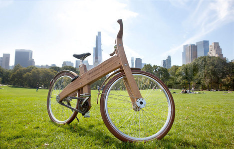 jan gunneweg combines nature + city with wooden bough bikes | Art, Design & Technology | Scoop.it