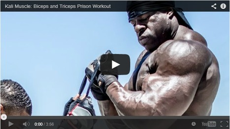 Kali's Bicep and Tricep Prison Workout-MuscleFitnessGains.com | Muscle Fitness Gains | Scoop.it