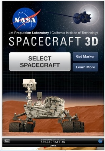 NASA's 3D augmented-reality app for exploring robotic space travel   KurzweilAI   APPY HOUR   Scoop.it