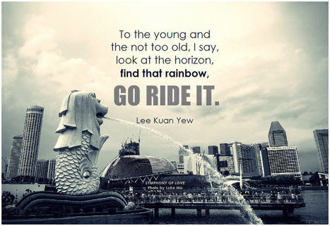 To the young and the not too old, I say, look at the horizon, find that rainbow, go ride it | the Change Samurai | Scoop.it