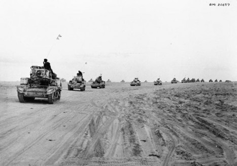 El Alamein – the tide turns against Rommel | History Around the Net | Scoop.it