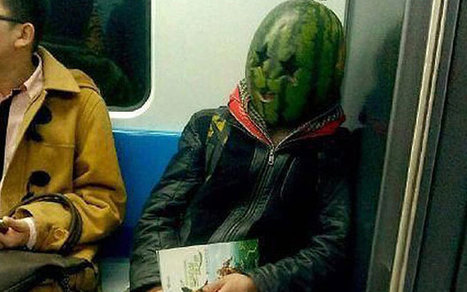 Riding the tube with a watermelon on your head could land you in trouble | Quite Interesting News | Scoop.it