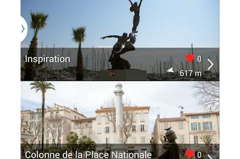 Antibes expérimente la visite des monuments historiques repérés ... - La Revue du digital | Histoire et gestion du patrimoine culturel | Scoop.it