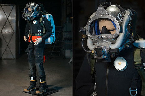 US Navy's latest diving suit saves helium, space and weight | Heron | Scoop.it