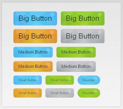 30 Must See CSS3 Animated Button Tutorials and Experiments | Design Inspiration | Coding (HTML5, CSS3, Javascript, jQuery ...) | Scoop.it