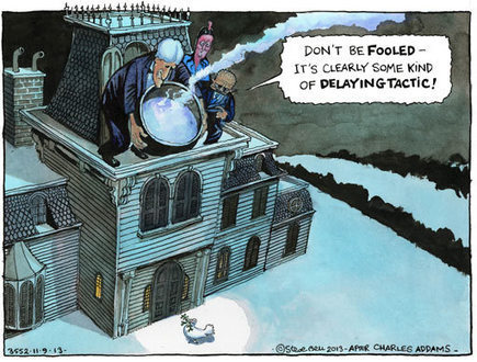 Steve Bell on the diplomatic moves to ease the Syrian crisis – cartoon | IB Global Politics | Scoop.it