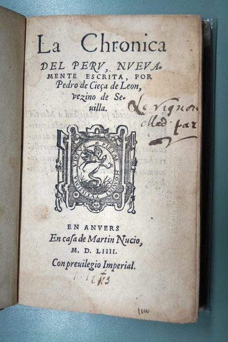LA BIBLIOTECA NACIONAL DEL PERÚ PRESENTA SUS JOYAS POR EL DÍA DEL LIBRO | La Mula (Pérou) | Kiosque du monde : Amériques | Scoop.it