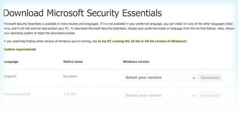 Download Free AntiSpyware Software from Microsoft | Cotés' Tech | Scoop.it