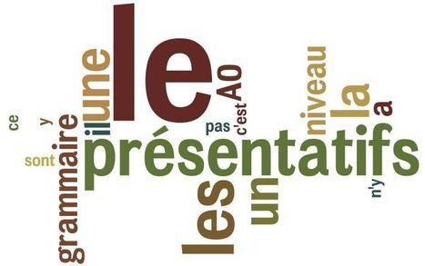 Les présentatifs : ce sont, c'est, il y a... - Débutant - Grammaire Française | Escola AzurLingua, Aprender Francês | Scoop.it