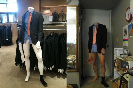 The unrealistic expectations of men by the fashion industry are not all unattainable. - Imgur | todaysfashion | Scoop.it