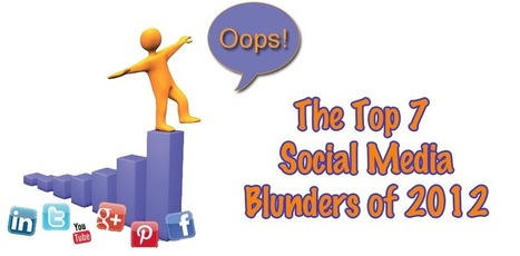 Social Media Marketing Faux Pas - The Top 7 Blunders of 2012 | Sizzlin' News | Scoop.it