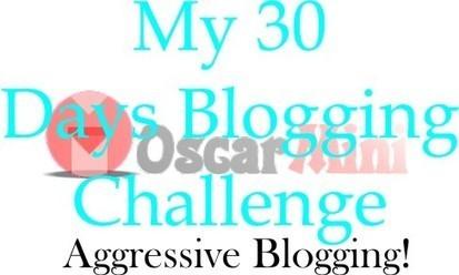 My 30-Days Aggressive Blogging Challenge | Blogging Tips | Scoop.it