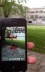 PikselBacteria (iPhone Augmented Reality Game): Füttere und kultiviere mit deiner Kamera kantenfressende Display-Bakterien « gamelab (swiss games & gamedesign) | Augmented Reality und Spiele | Scoop.it