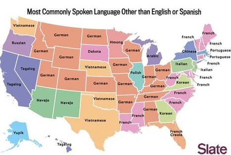 The Most Commonly Spoken Language in Each State Besides English and Spanish | HMHS History | Scoop.it