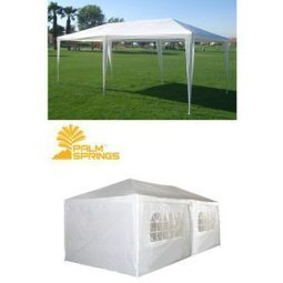 Palm Springs 10 X 20 White Party Tent Gazebo Canopy Complete With Sidewalls | Home Building | Scoop.it