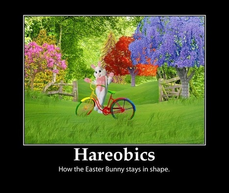 The Easter Bunny Gets in Shape For Easter - e-Forwards.com - Funny Emails | Christmas and Easter Fun and Humour | Scoop.it
