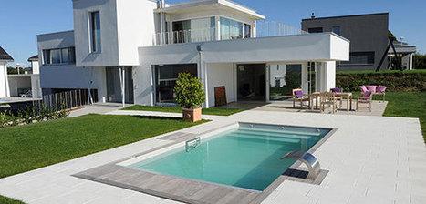 Reportage photo d'une piscine design en Suisse | Piscine & Design | Scoop.it