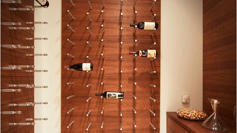 A Wine Rack That Helps You Flash Those Fancy Labels | Wine labels | Scoop.it