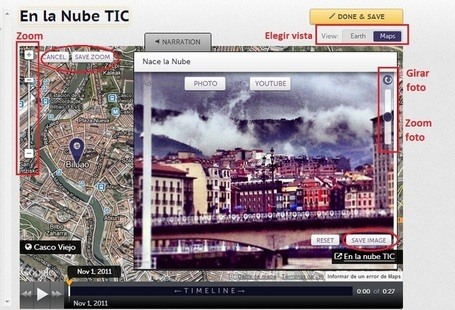 En la nube TIC: Meograph: crear historias multimedia | Utilidades TIC e-learning | Scoop.it