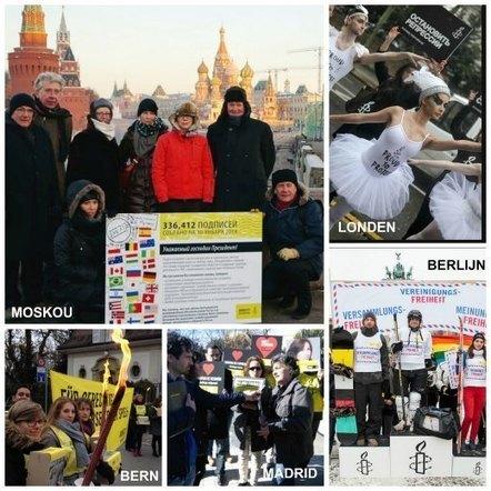 Meer dan 336.000 handtekeningen voor vrije meningsuiting overhandigd aan Poetin   Amnesty International   actuataak   Scoop.it