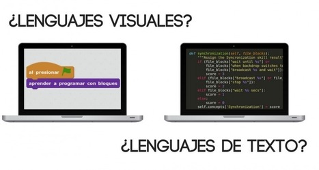 ¿Lenguajes de programación visuales o lenguajes basados en texto? | TECNOLOGÍA_aal66 | Scoop.it