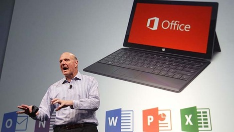 Microsoft revamps Office, looks to the cloud | Mobile Learning in Higher Education | Scoop.it