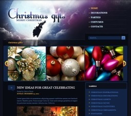 Christmas Gifts Blogger Template Free Download by John - HeavenThemes | Things to know | Scoop.it