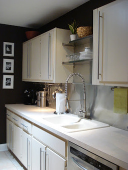 Unpretentious Style: Kitchen Mini-Makeover   Tips and ideas for your home.   Scoop.it