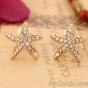 Cute Sweet Starfish Earrings|Fashion Earrings - Jewelry&Accessories|ByGoods.com | Design | Scoop.it
