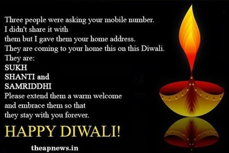 Diwali SMS | Happy Diwali Quotations | Diwali Text Messages, Wishes | TheAPNews | Scoop.it