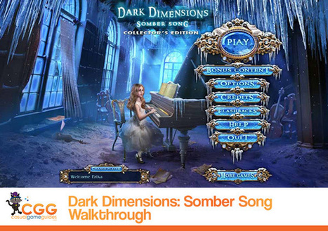 Dark Dimensions: Somber Song Walkthrough: From CasualGameGuides.com | Casual Game Walkthroughs | Scoop.it