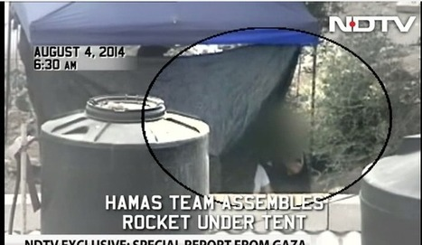 WATCH: Indian TV records Gaza rocket launch | Judaism in Today's World | Scoop.it