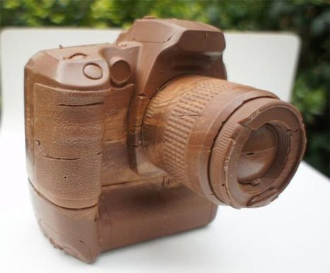 Canon D60 Camera Made of Chocolate | Photographic | Scoop.it