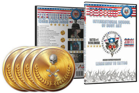 Learn How to Tattoo DVD Course   International School of Body Art   Arts & Entertainment   Scoop.it