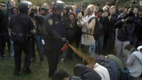 University of California offers $30,000 each to pepper-sprayed students | Personal Protection Products, Stun Guns, Pepper Spray | Scoop.it