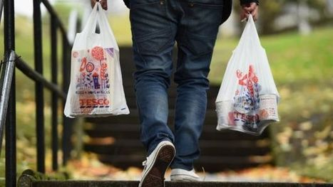 Shoppers in England last to face 5p plastic bag charge - BBC News | year 12 AQA economics | Scoop.it