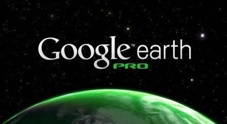 Google Earth Pro ya es gratis | Tecnología Educativa Morreducation | Scoop.it