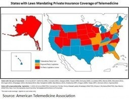 State laws vary widely on telehealth insurance coverage - EHRIntelligence.com | Telemedicine Today | Scoop.it