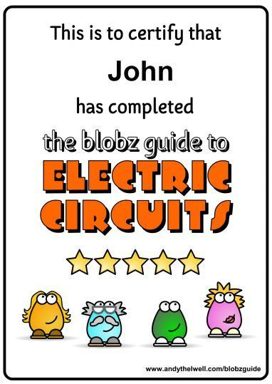 The Blobz Guide to Electric Circuits | technologies | Scoop.it