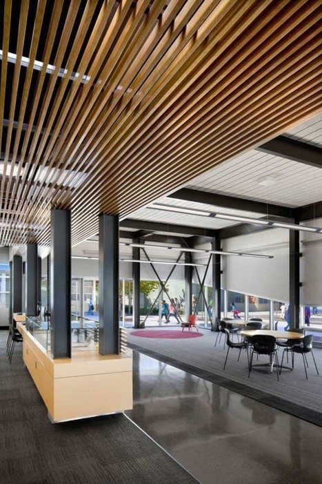 Orchard Library by HMC Architects | Archiarcha.com – Architecture Design & Technology Information | School Library Design Planning | Scoop.it