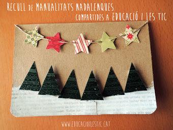 Recull de manualitats nadalenques compartides a Educació i les TIC | Posts d'Educació i les TIC | Scoop.it