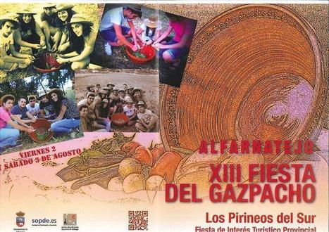 XIII FIesta del Gaspacho - Alfarnatejo - 2 y 3 de Agosto | Cosas de mi Tierra | Scoop.it