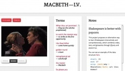 Shakespeare goes social: Mozilla Popcorn in the classroom | Transmedia and Tech Junior | Scoop.it